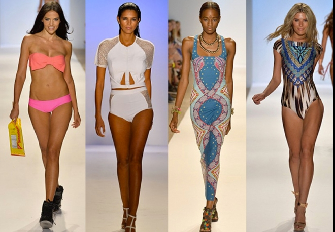 Looks from Lolli Swim, Suboo, Mara Hoffman and CM CIA.MARÍTIMA,