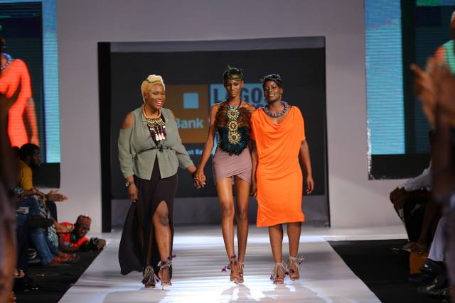 AQL x MoSaique on the runway LFDW