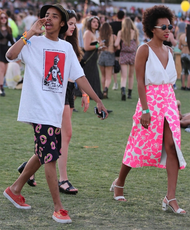 Solange Knowles at Coachella | Mo-Saique