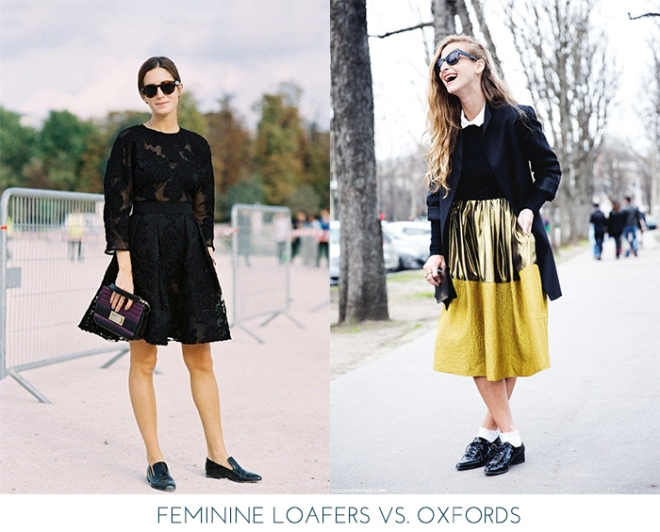 Loafers vs. Oxfords | Mo-Saique