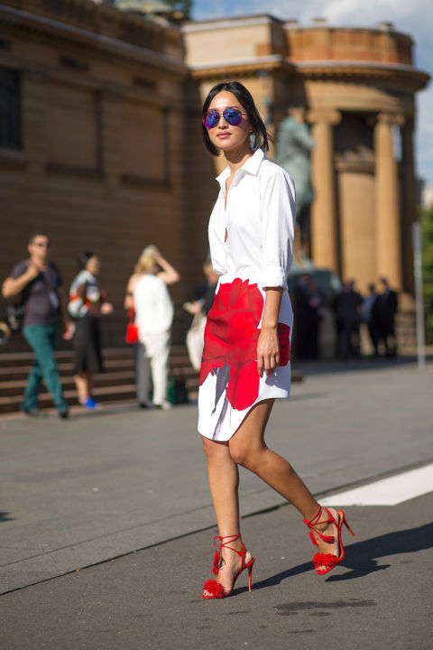 5 ways to wear white for summer - Mo-Saique